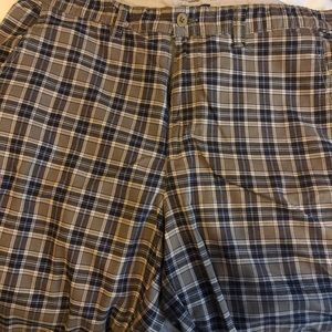 Bass plaid men's shorts
